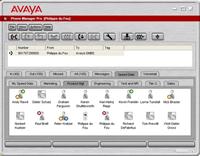AvayaIPoffice phone manager